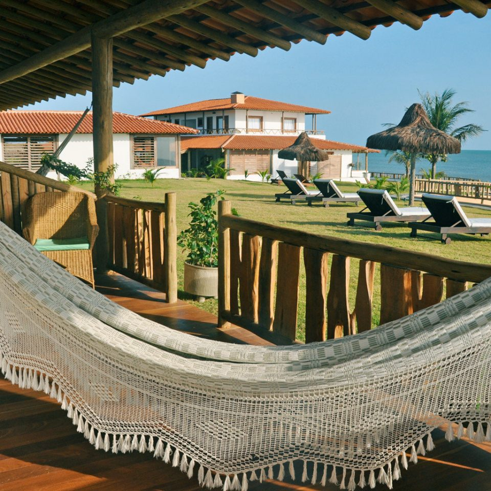 Beachfront Deck Grounds Scenic views leisure Resort wooden swimming pool walkway outdoor structure