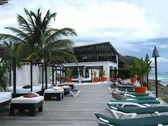 Beachfront Lounge Modern Romantic sky walkway condominium marina boardwalk dock Resort lined Deck