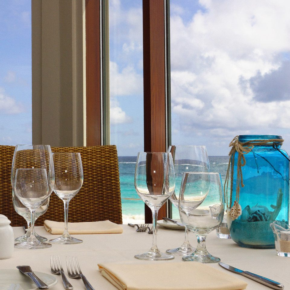 Beachfront Dining Drink Eat Scenic views sky blue caribbean home Sea restaurant