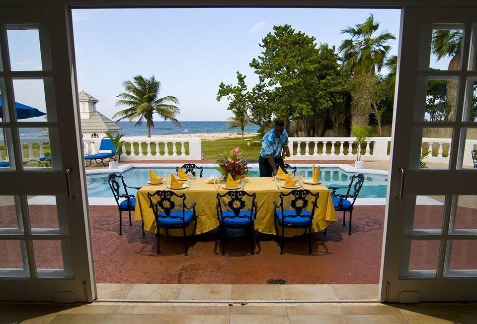 Beachfront Dining Eat Tropical Villa Resort home tourist attraction amusement park restaurant