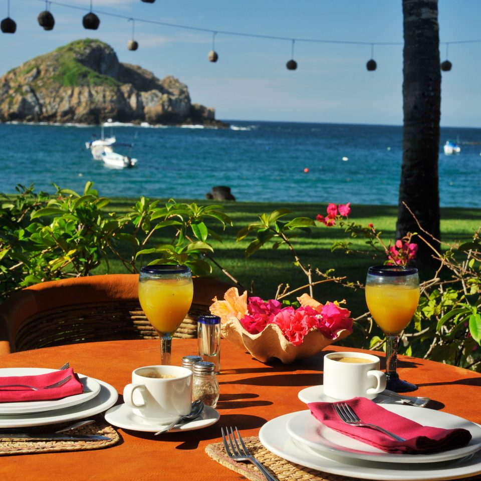 Beachfront Dining Island Scenic views sky water leisure caribbean vehicle restaurant Sea