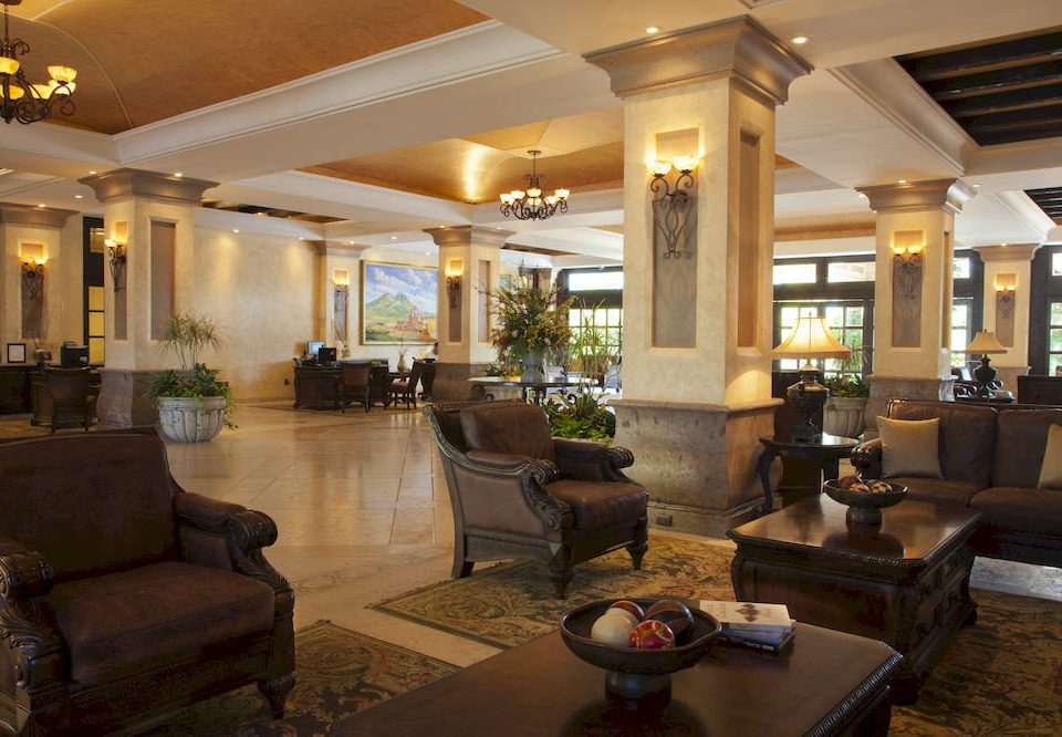 Beachfront Elegant Historic Lobby Lounge Tropical sofa property living room home condominium mansion leather