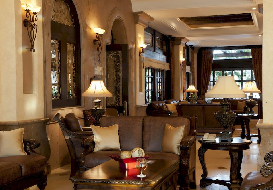 Beachfront Elegant Historic Lobby Lounge property living room home restaurant lighting Suite mansion condominium