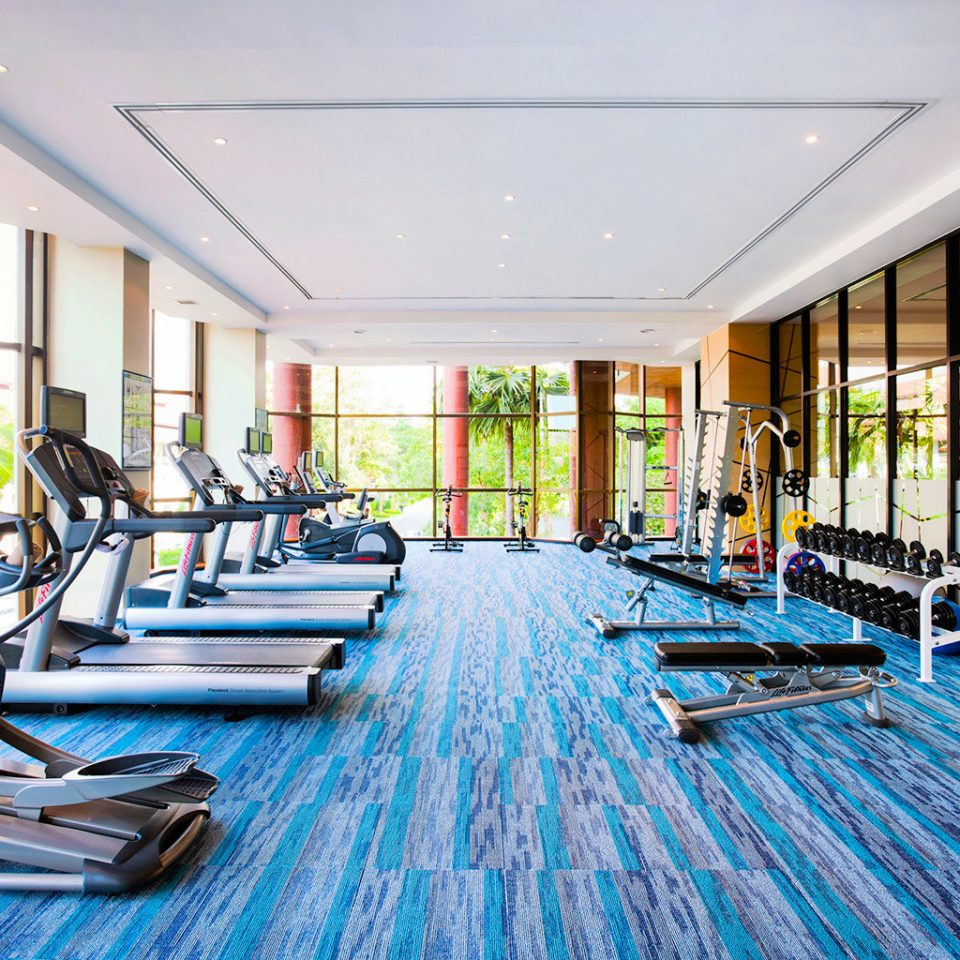 Beachfront Family Fitness Honeymoon Island Resort Romance Wellness structure leisure sport venue gym leisure centre condominium