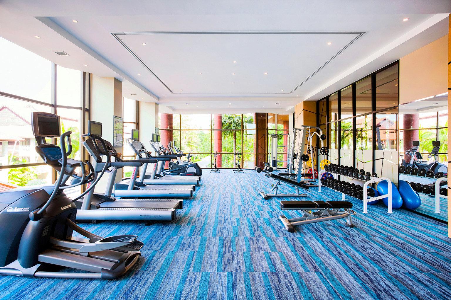 Beachfront Family Fitness Honeymoon Island Resort Romance Wellness structure leisure sport venue gym leisure centre condominium