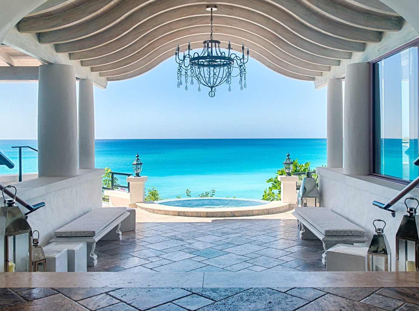 Beachfront Family Luxury Resort swimming pool property Villa condominium mansion home caribbean