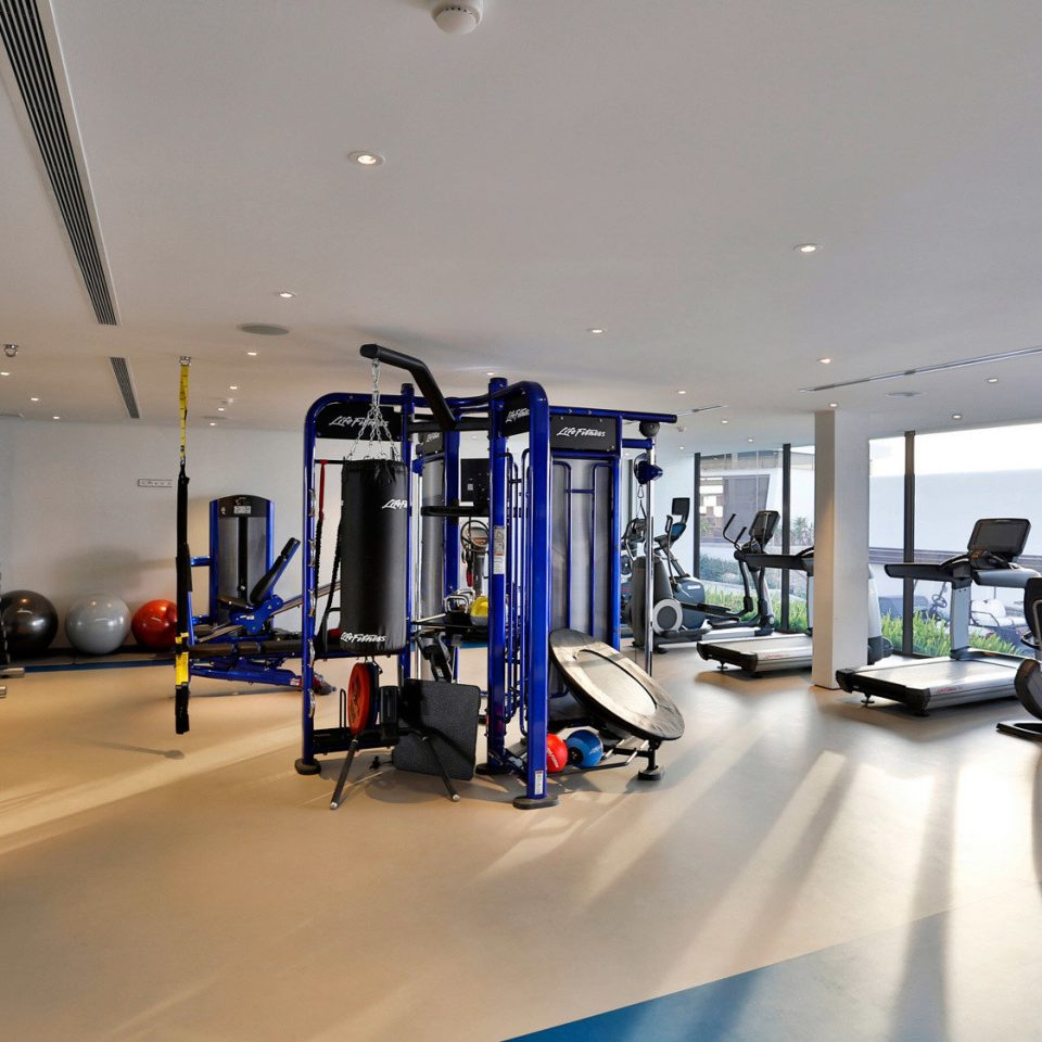 Beachfront Fitness Hip Luxury Modern Sport Wellness structure gym sport venue