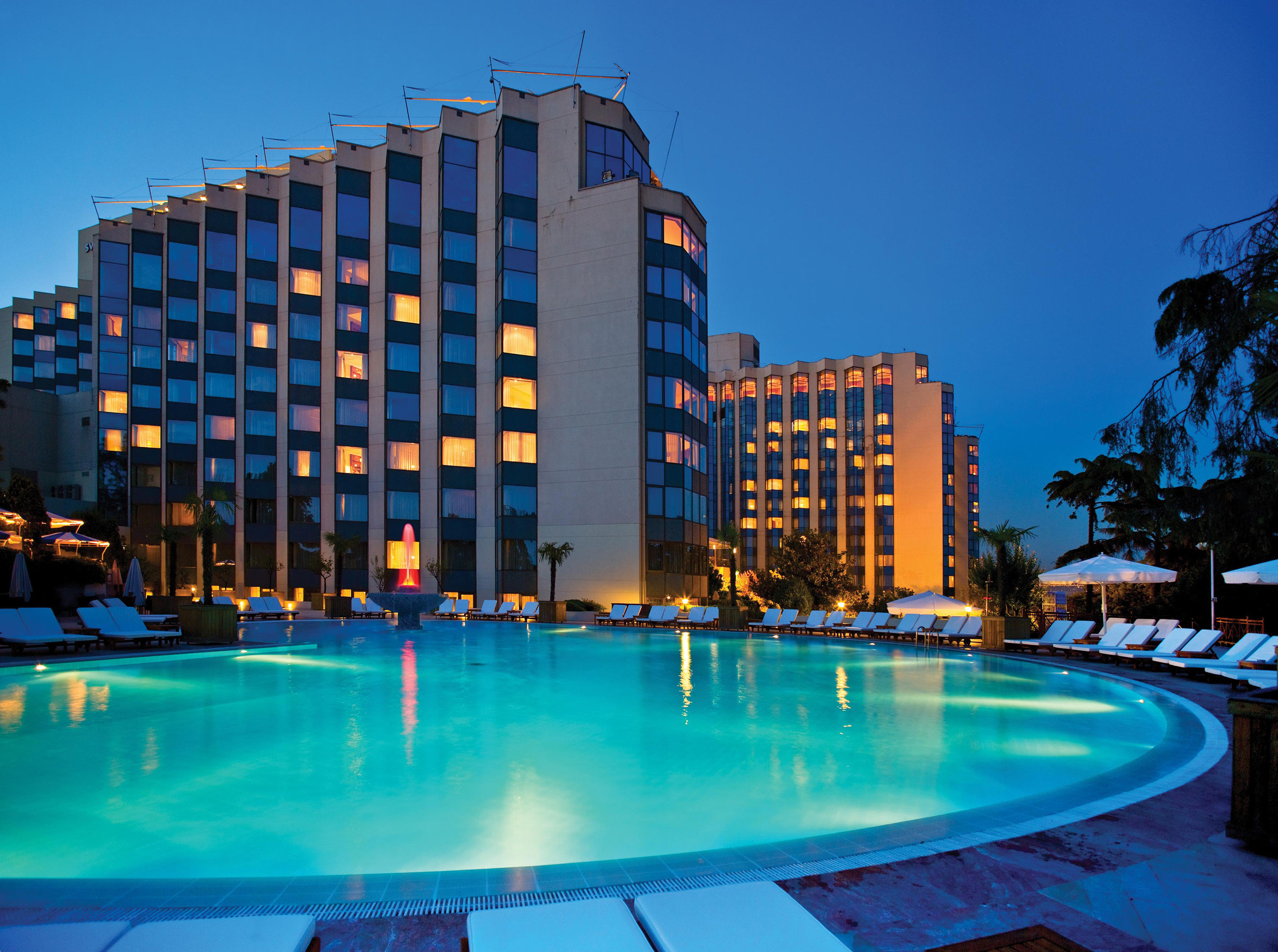 Beachfront Hip Lounge Luxury Modern Pool sky swimming pool condominium Harbor Resort blue marina
