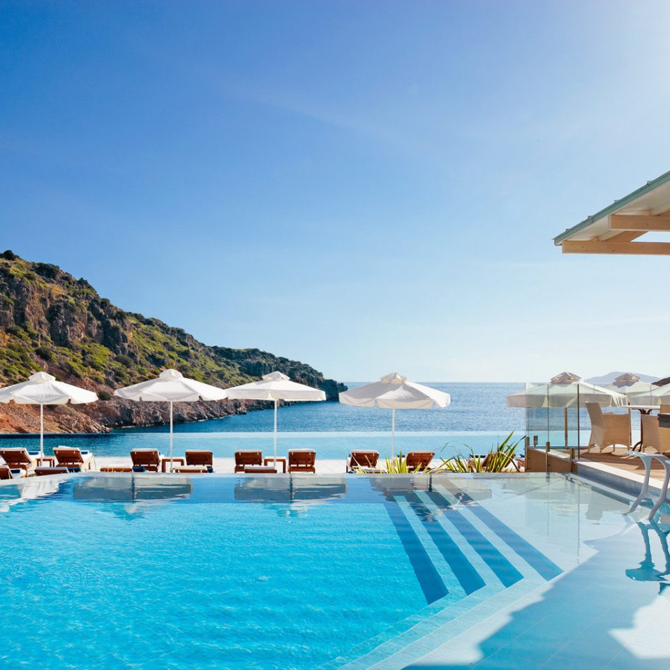 Beachfront Honeymoon Luxury Pool Resort Romance Romantic Scenic views sky chair swimming pool leisure property Sea mountain caribbean resort town Villa swimming shore Island