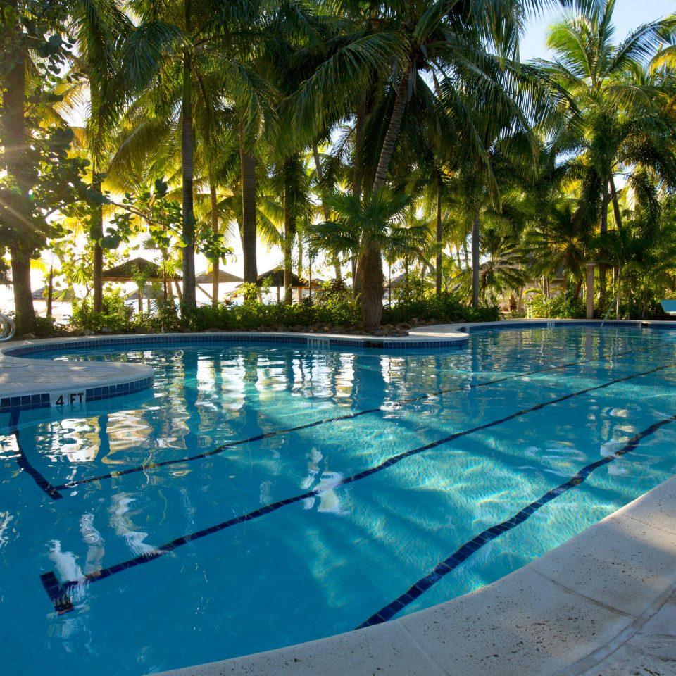 Beachfront Honeymoon Island Pool Resort Romance Romantic Tropical tree water swimming pool leisure property resort town backyard