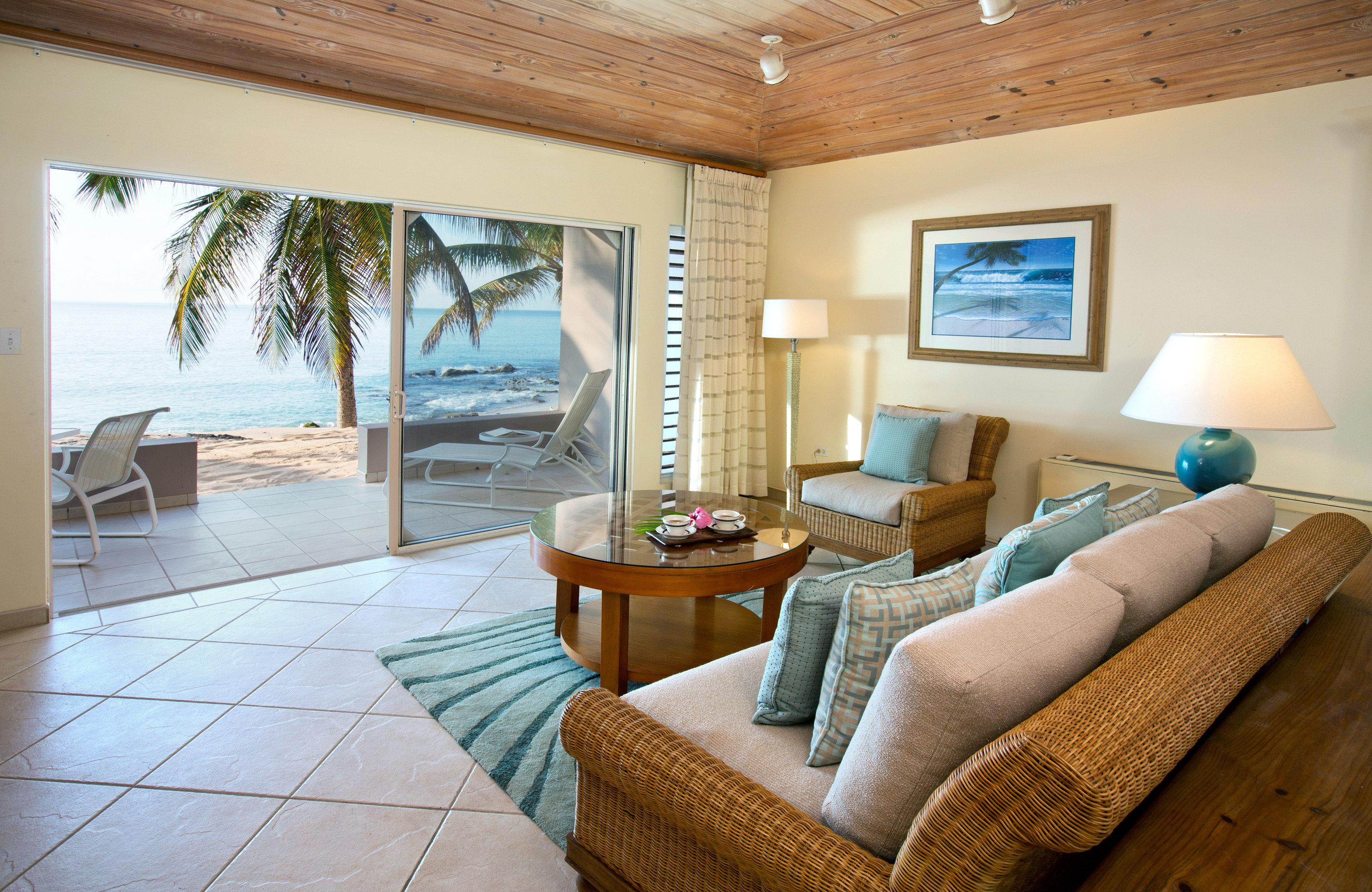 Beachfront Honeymoon Island Romance Romantic Suite Terrace Tropical property living room home Villa cottage condominium Resort