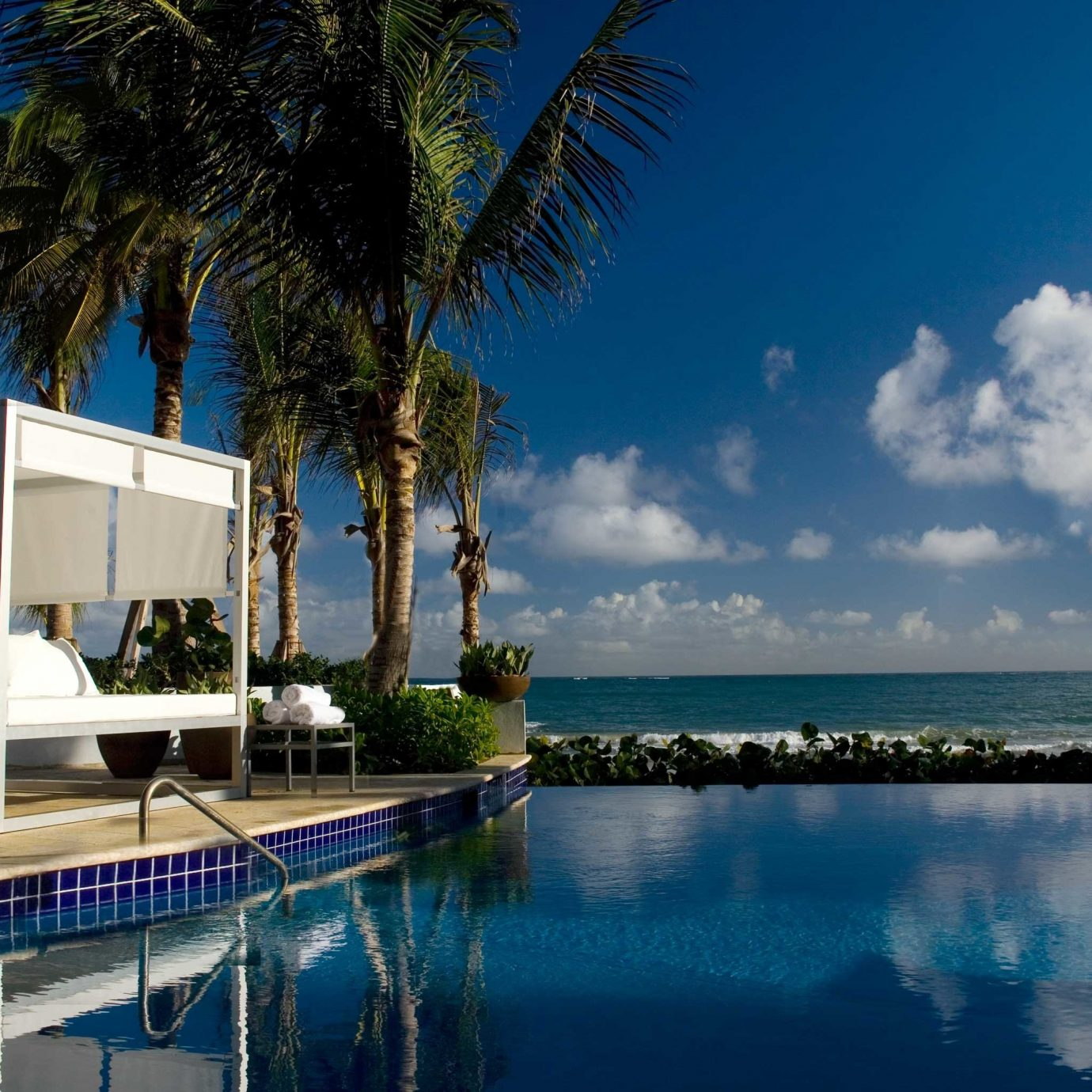 Beachfront Hotels Modern Pool Resort Romance Scenic views tree sky water swimming pool arecales Sea marina