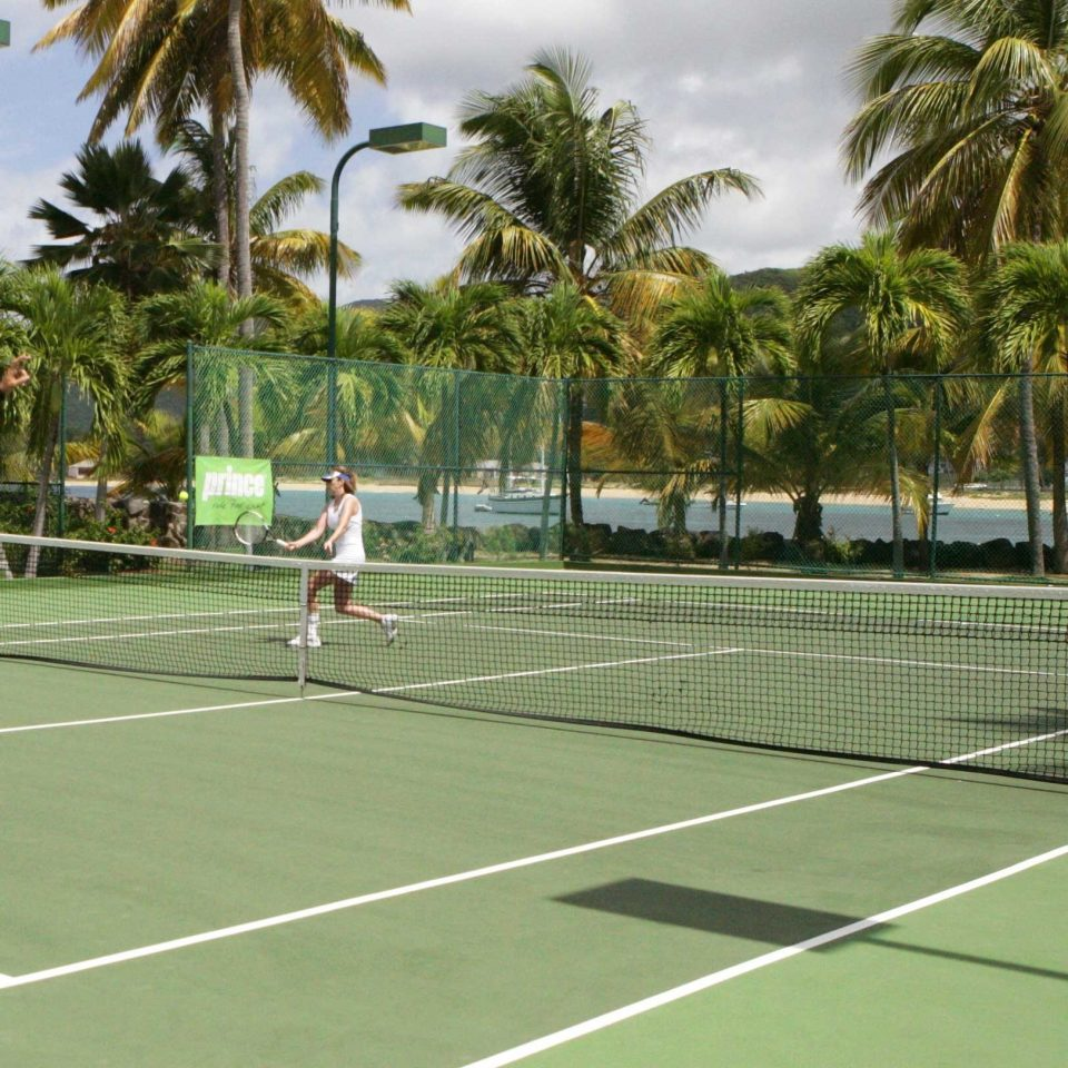 Beachfront Island Outdoor Activities Outdoors Resort Romance Romantic Sport Tropical tennis tree athletic game court racquet sport ball game structure sports sport venue leisure soft tennis luxury vehicle