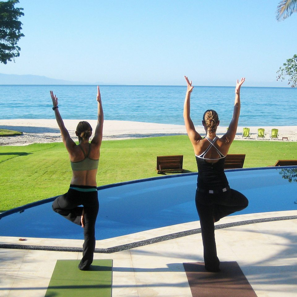 Beachfront Pool Wellness sky water leisure physical fitness sports yoga sitting Lake martial arts individual sports shore
