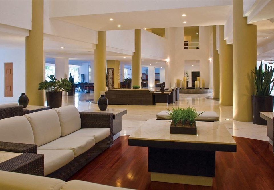 Beachfront Lobby Lounge Tropical sofa living room property condominium home Suite Villa mansion Resort Modern