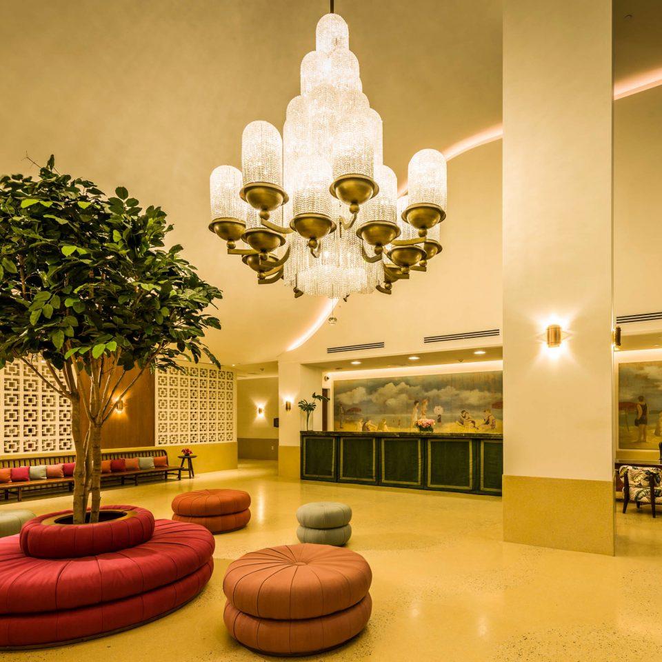 Beachfront Lobby Lounge Resort lighting