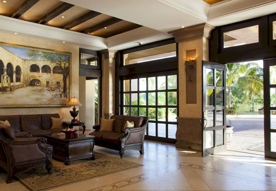 Beachfront Lobby Lounge Romantic Rustic Tropical property building living room condominium home mansion Resort