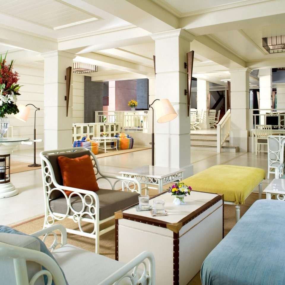 Beachfront Lobby Lounge Tropical property living room condominium home cottage Suite Villa