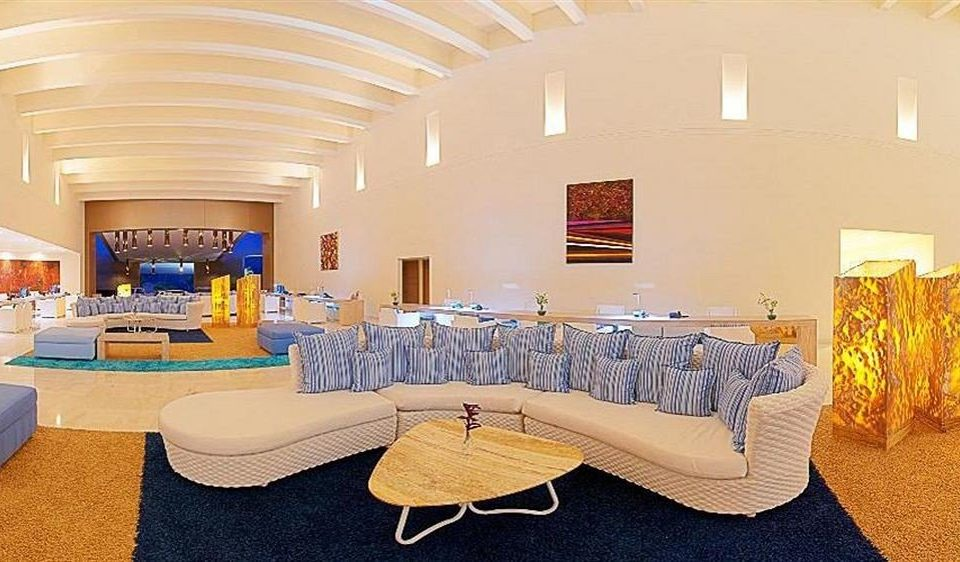 Beachfront Modern Resort Waterfront function hall scene conference hall Lobby living room convention center