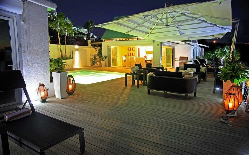 Beachfront Lounge Luxury property house home lighting Villa living room outdoor structure cottage