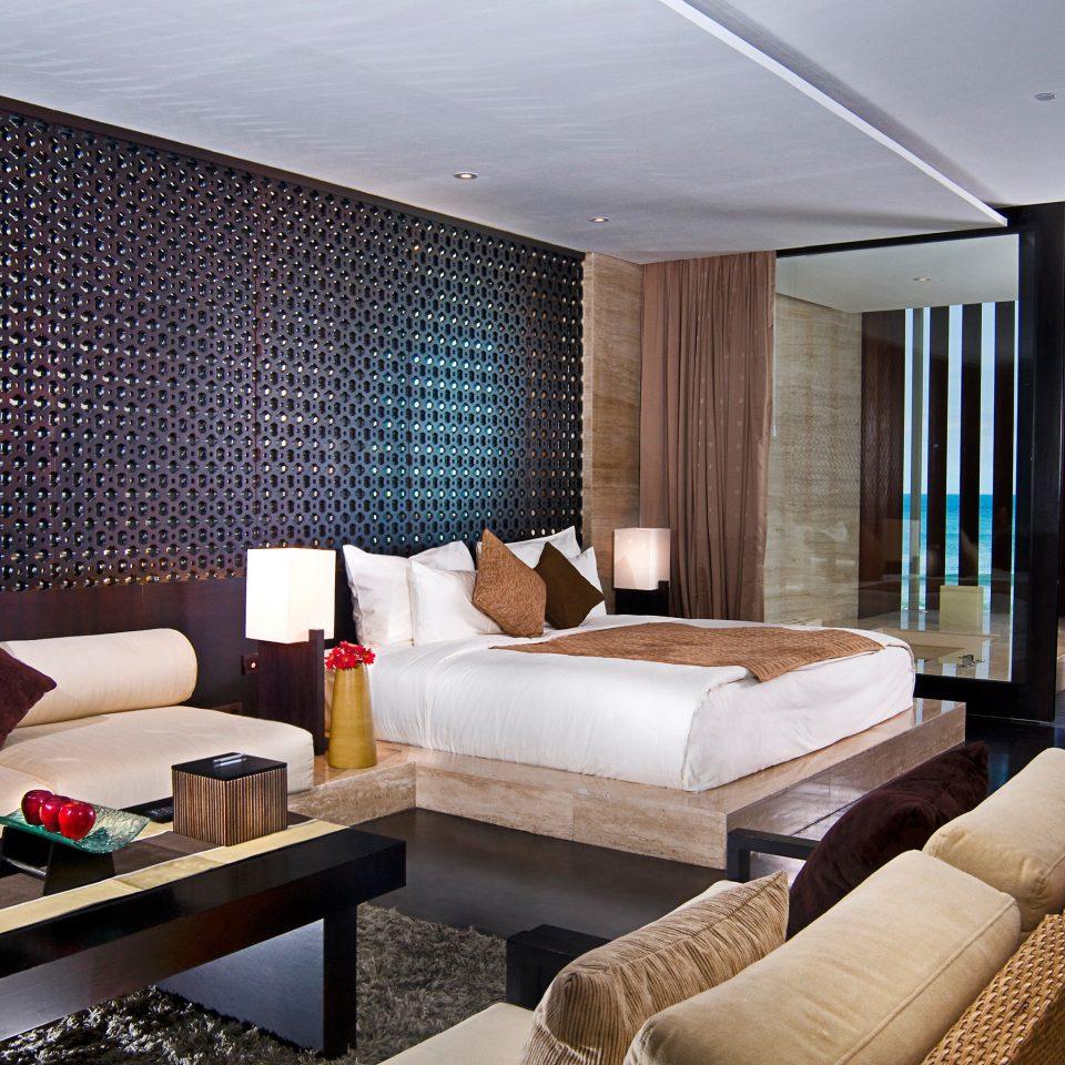 Beachfront Lounge Scenic views sofa property living room condominium Suite Villa flat Modern