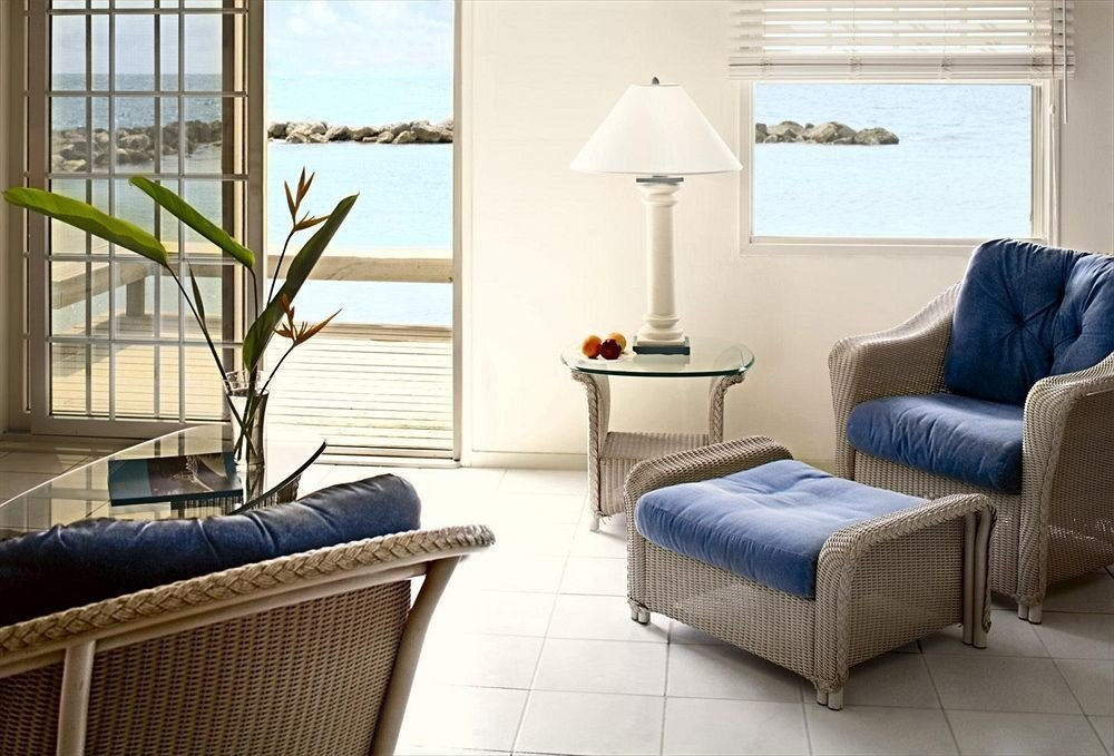 Beachfront Lounge Ocean sofa chair property living room home Suite cottage condominium leather