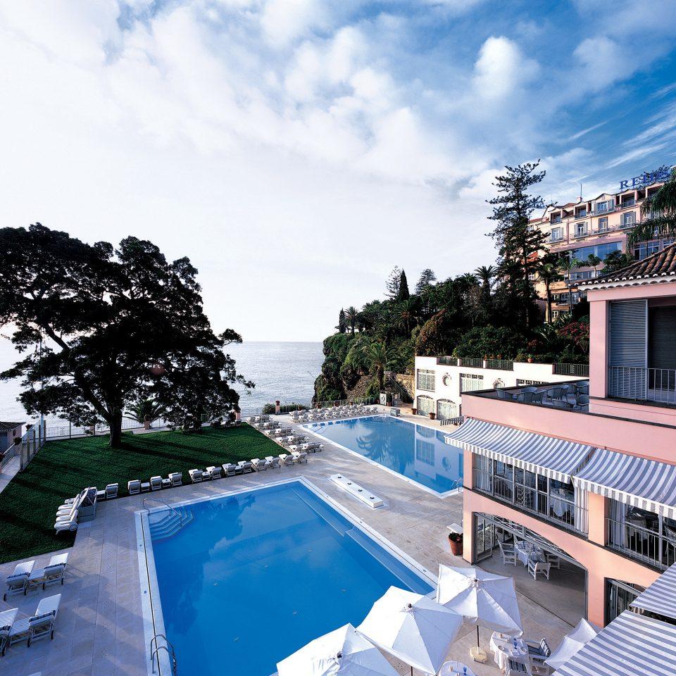 Beachfront Luxury Modern Pool Romantic sky swimming pool property leisure house Resort Villa condominium Sea