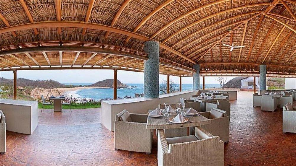 Beachfront Modern Resort Scenic views Waterfront chair property Villa hacienda mansion