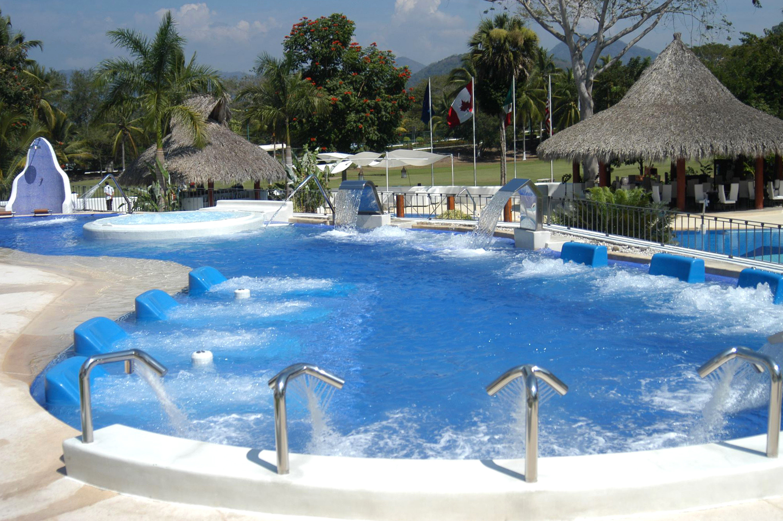 Beachfront Pool Resort Tropical Waterfront tree swimming pool leisure Water park amusement park resort town backyard park