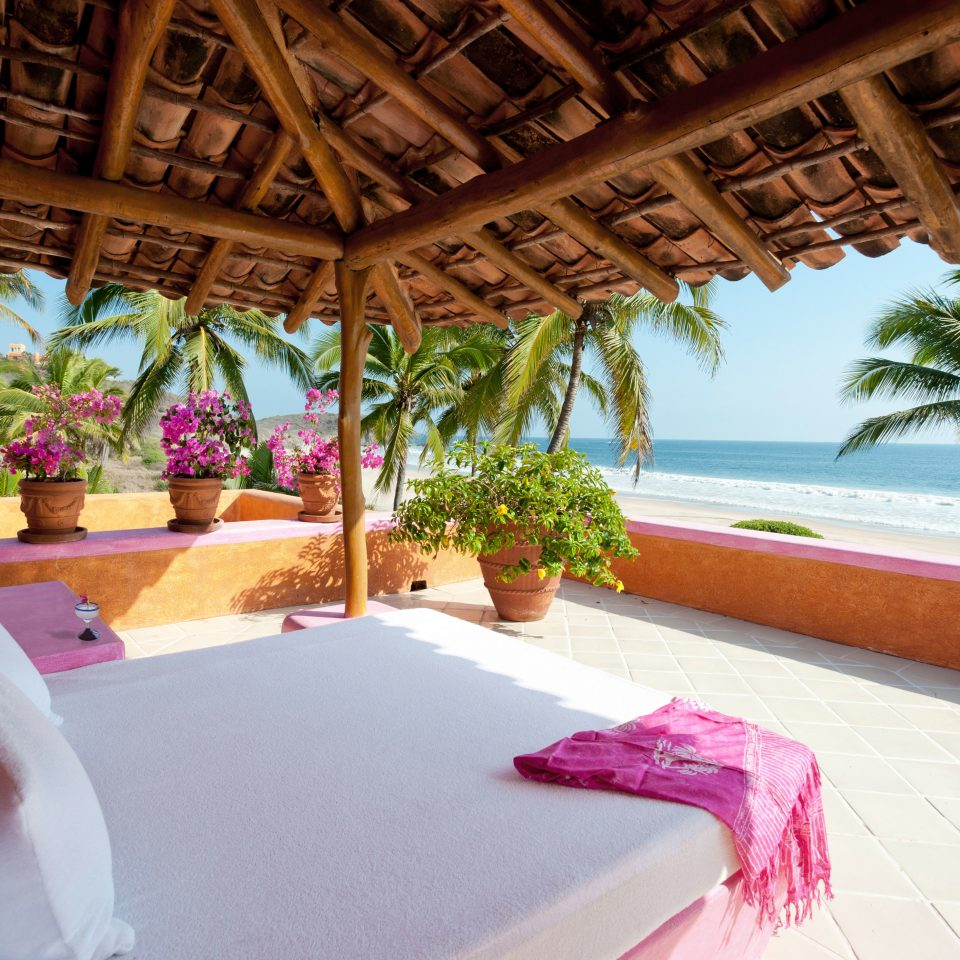 Beachfront Romantic Scenic views property Resort swimming pool Villa hacienda mansion caribbean eco hotel