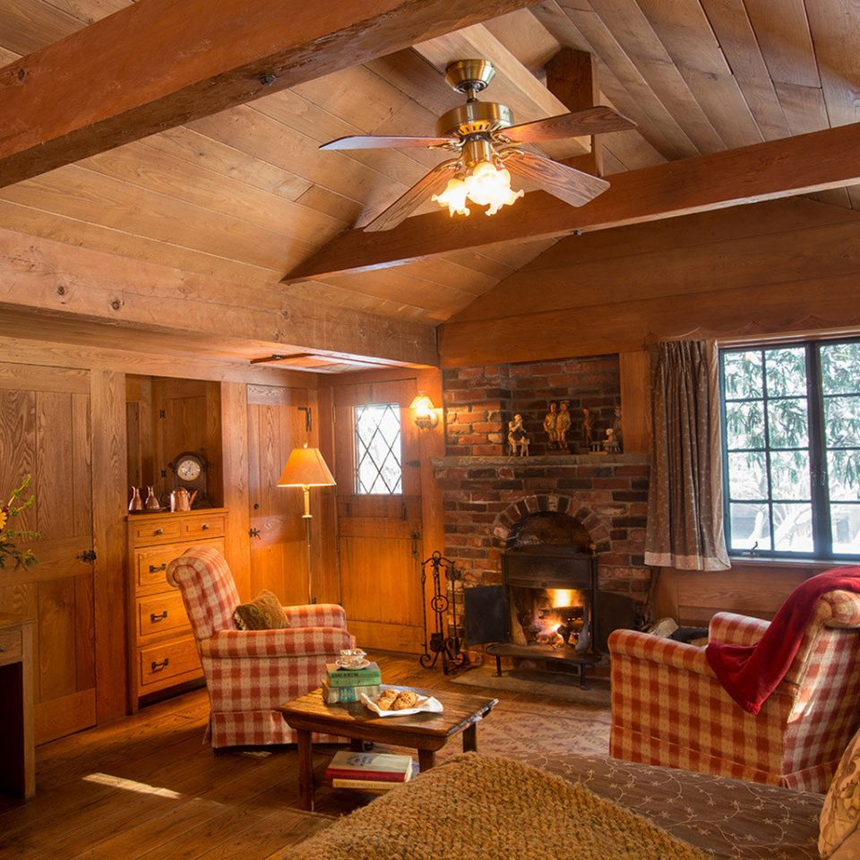 property living room log cabin home house cottage hardwood farmhouse beam wood flooring