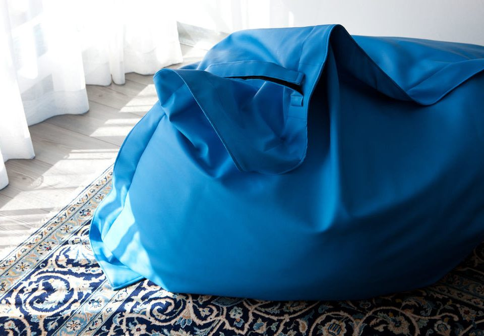 blue petal bed sheet textile material