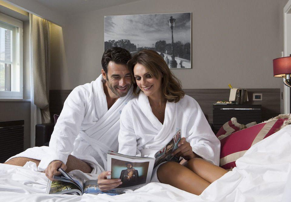 woman patient bedclothes