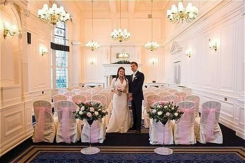 wedding ceremony aisle function hall mansion floristry ballroom wedding reception Bedroom