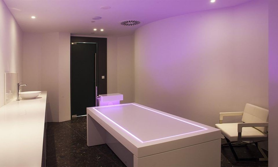 purple bathroom lighting amenity interior designer plumbing fixture Bedroom