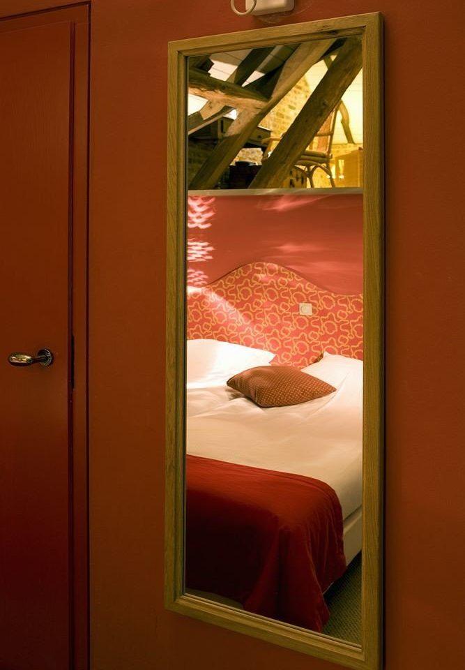color red art door lighting glass modern art Bedroom