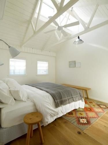 property Bedroom attic cottage loft