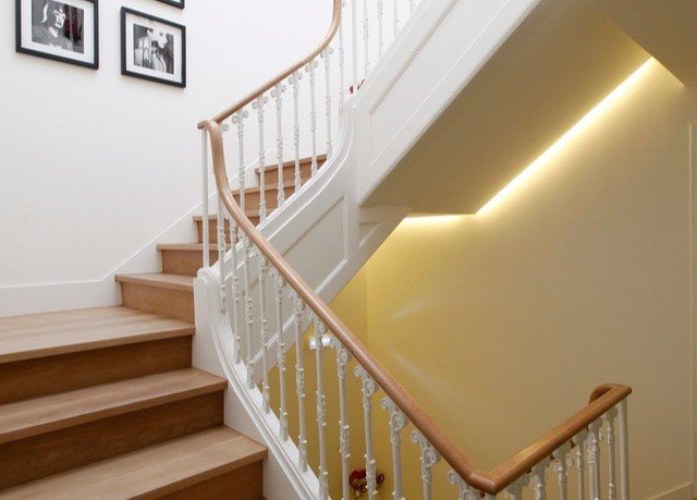 stairs handrail property product baluster hardwood daylighting molding baby bed step Bedroom