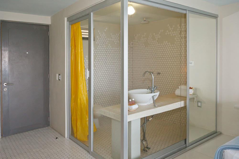 bathroom property shower sink plumbing fixture door public toilet Bedroom