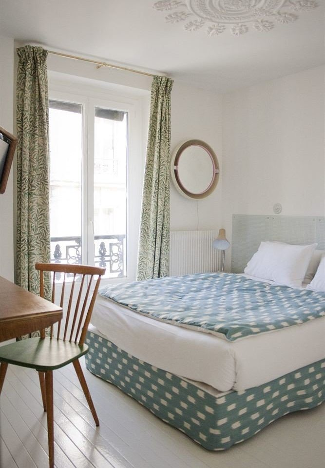 chair property Bedroom cottage bed frame bed sheet