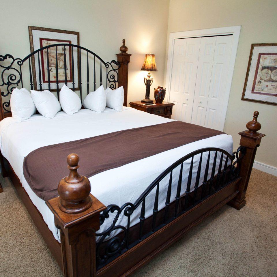 Bedroom property cottage hardwood home bed frame bed sheet