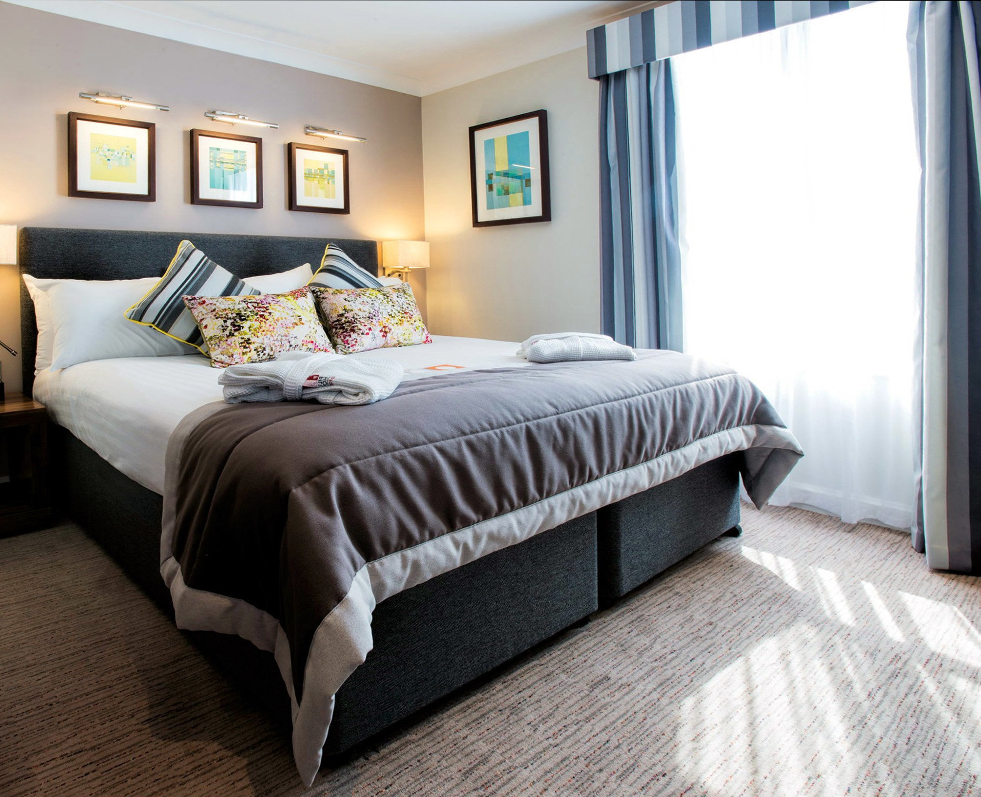 Bedroom property bed frame cottage bed sheet studio couch living room