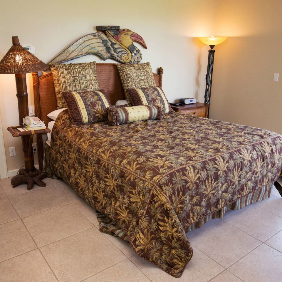 Bedroom property cottage hardwood bed sheet bed frame