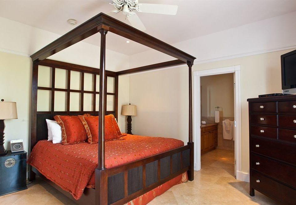 Bedroom property hardwood red cottage home bed frame bed sheet living room