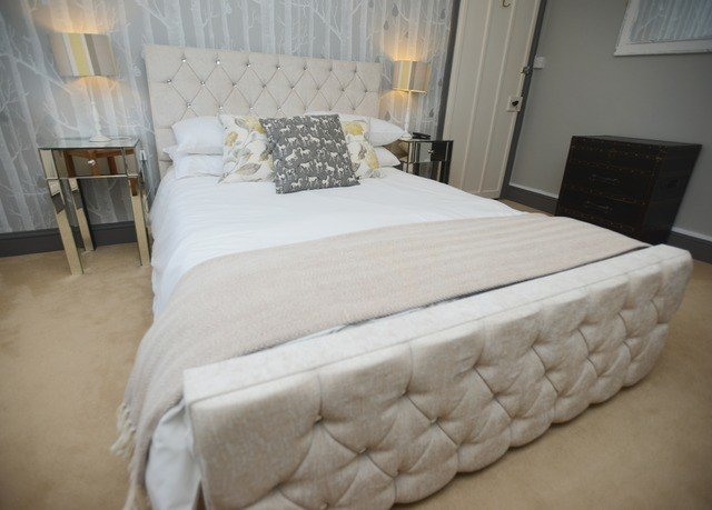 property Bedroom bed frame cottage bed sheet