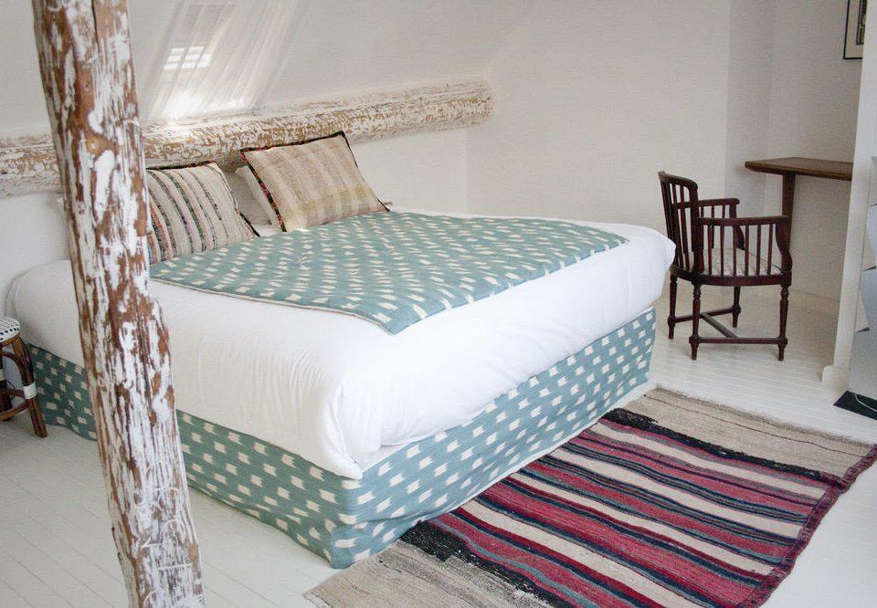 Bedroom bed sheet textile duvet cover bed frame cottage