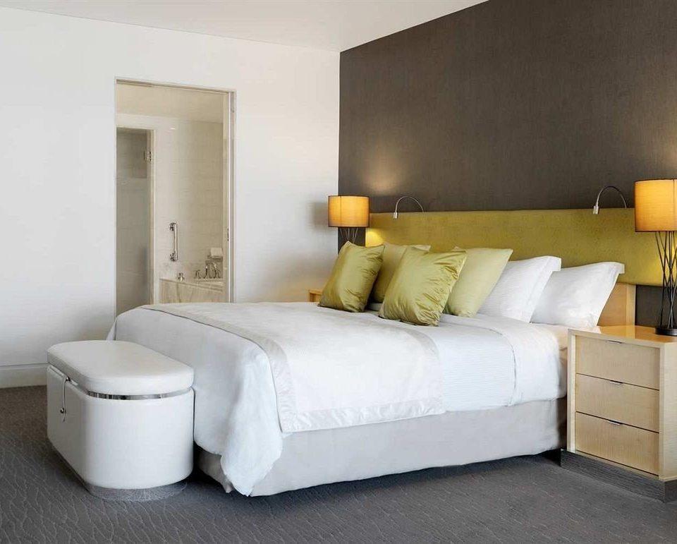property Bedroom white living room bed frame bed sheet