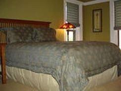 property cottage Bedroom bed frame