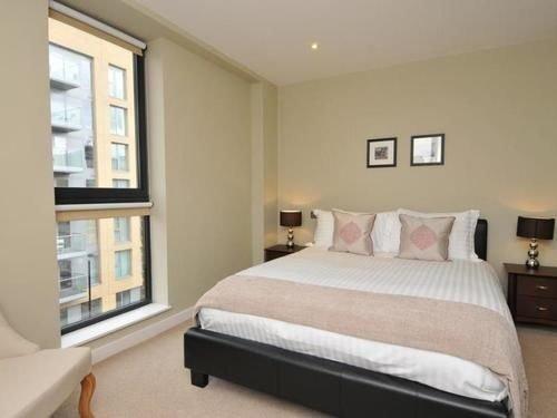 Bedroom property cottage bed frame