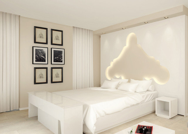Bedroom property living room white product bed frame studio couch